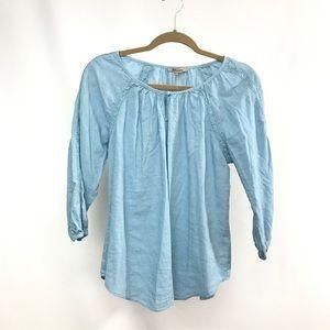 Soiree | Blue Lace Blouse
